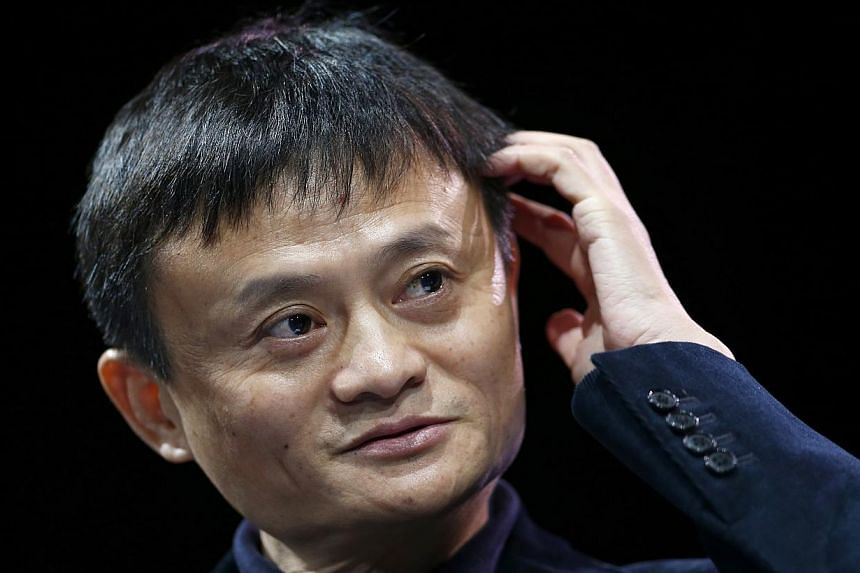 Jack Ma, executive chairman of Alibaba Group, speaks at the WSJD Live conference in Laguna Beach, California in this file photo taken on Oct 27, 2014. PHOTO: REUTERS