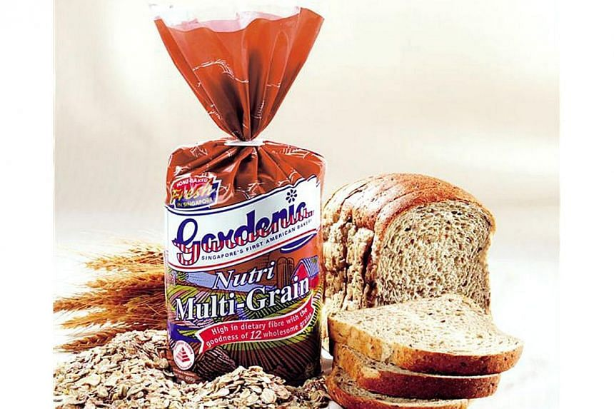 Gardenia bread maker QAF has more than doubled its net profit for the third quarter to $8.1 million from $3.8 million in the same period last year. -- PHOTO: GARDENIA