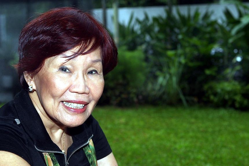 Former Raffles Girls' School (RGS) principal Carmee Lim has a scholarship named after her, in honour of her work in education. -- PHOTO: ST FILE