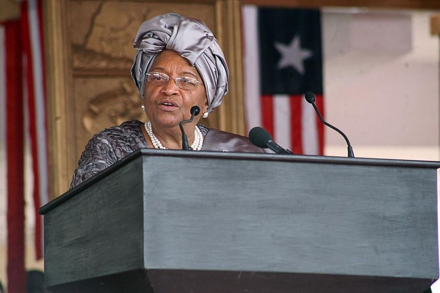 """Liberia said Thursday it had lifted a state of emergency imposed for its """"very survival"""" three months ago as the deadly Ebola virus was cutting a swathe through the west African nation. -- PHOTO: AFP"""