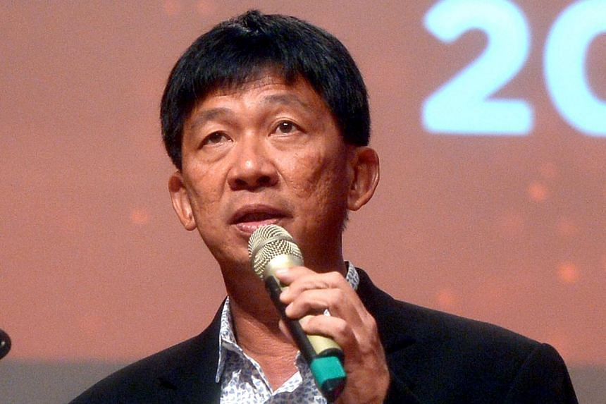 S-League CEO Lim Chin found himself under scrutiny after a private and confidential dialogue in which he was involved was leaked on the Internet. -- ST PHOTO:KUA CHEE SIONG