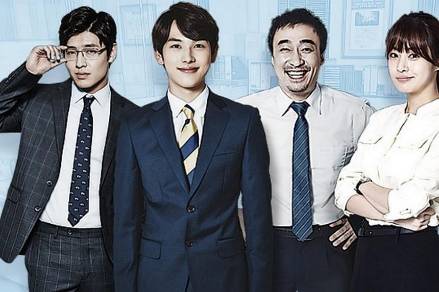 Incomplete Life is a realistic drama about ordinary office workers. -- PHOTO: SCREENGRAB FROM MISAENG