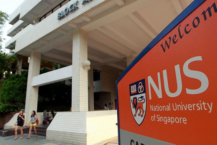 The National University of Singapore (NUS) came in 39th place in a new ranking by international publishing company Nature Publishing Group, making it the highest-ranked Singapore institution in the index. -- PHOTO: ST FILE