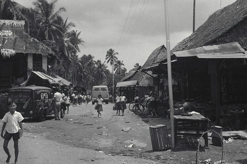 Kampong Chai Chee in Singapore on Oct 19, 1953. -- PHOTO: ST FILE