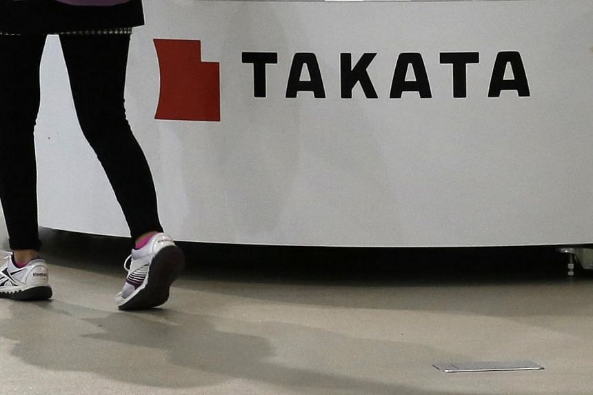 The case involved a 2003 Honda City subcompact that was manufactured in Thailand, and the air bag was made in a Takata plant in Georgia. -- PHOTO: REUTERS