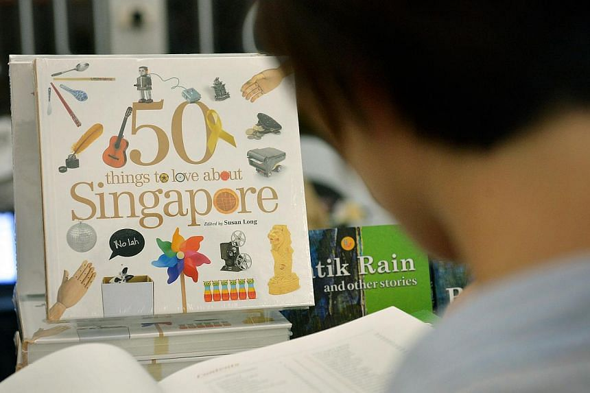 50 Things To Love About Singapore was launched on Nov 7 with an initial print run of 3,000. About 2,000 copies have been sold.
