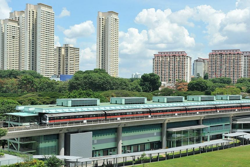 Buona Vista station, one of the best views of southern Singapore.--PHOTO: RUDY WONG