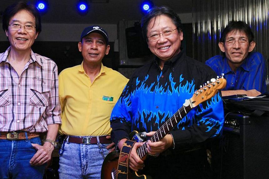Singapore Cowboy by Matthew And The Mandarins, which comprise (from left) Michael Png, Rawi B Omar, Matthew Tan and Patrick Favacho, hit triple platinum status recently.