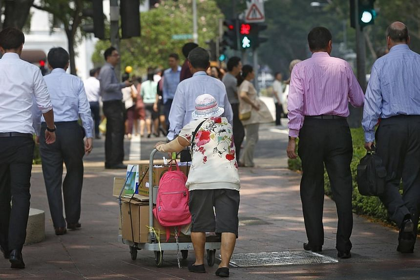 There will soon be a comprehensive plan that looks into making public transport facilities more elderly-friendly. This includes possibly having more seats at bus stops and train stations or their sheltered walkways nearby, having more anti-slip floor
