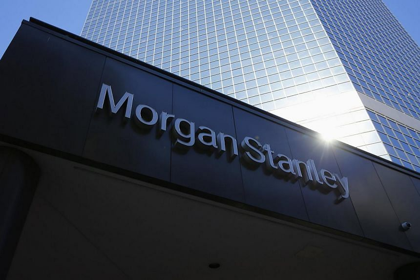 """A four-year long legal battle between a group of Singapore Pinnacle Notes investors and Morgan Stanley over allegations it sold rigged products that were """"designed to fail"""" has been settled for US$20 million (S$25 million). -- PHOTO: REUTERS"""