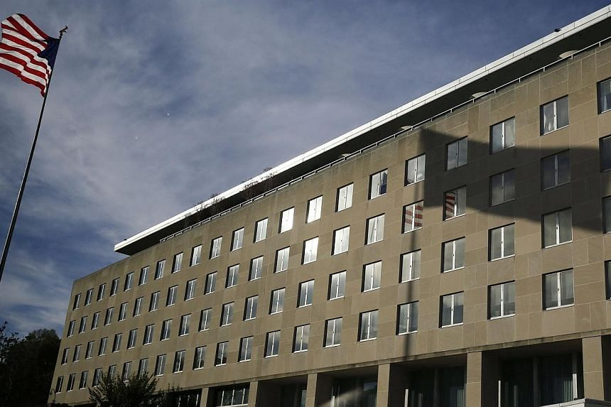 The Harry S. Truman Building at the Department of State in Washington on Oct 24, 2014.The United States State Department had to shut down its unclassified computer network over the weekend after evidence emerged that it could have been hacked,