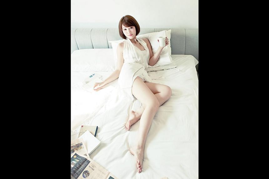 Taiwan-based Wincci Soo has released six albums in English, Malay and Mandarin. Her PhD thesis is on social media strategies in show business. -- PHOTO: BEYOND ARTISTES