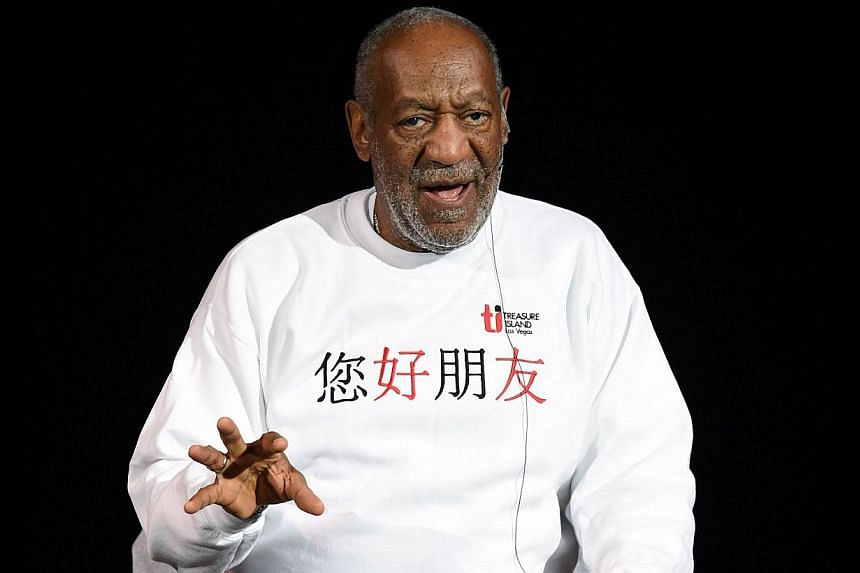 Comedian/actor Bill Cosby performs at the Treasure Island Hotel & Casino in Las Vegas, Nevada on Sept 26, 2014. -- PHOTO: AFP