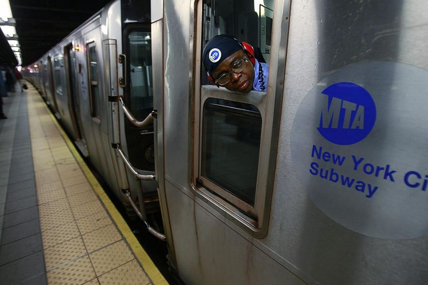 The incident took place in the Bronx, where the victim was waiting for the D train at the 167th street stop with his wife. -- PHOTO: REUTERS