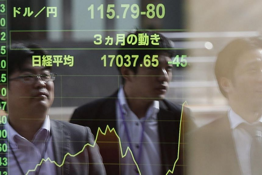 Japan's Nikkei benchmark closed 2.2 per cent higher on Tuesday, the biggest daily percentage gain since Nov 4.as investors waited to see if Prime Minister Shinzo Abe would call a snap election and consider fresh steps to support the economy aft
