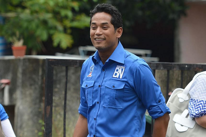 Umno Youth chief Khairy Jamaluddin on the campaign trail before the last general election. He has brought the wow factor to his position as Youth and Sports Minister and is one of the most watched Umno politicians.