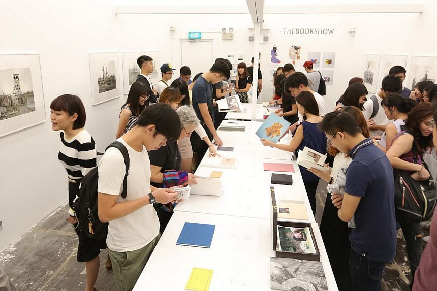 Thebookshow at the Singapore International Photography Festival is a showcase of self-published books and zines by artists and photographers.