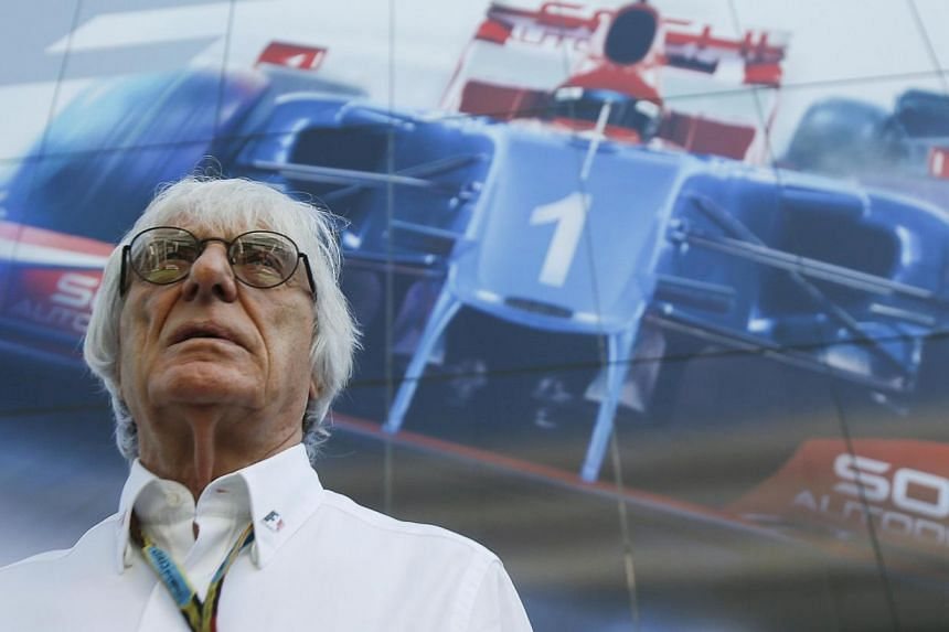 Formula One commercial supremo Bernie Ecclestone arrives for the drivers' parade before the first Russian Grand Prix in Sochi on Oct 12, 2014. Formula One's smaller teams have written to Bernie Ecclestone to press demands for a bigger share of the sp