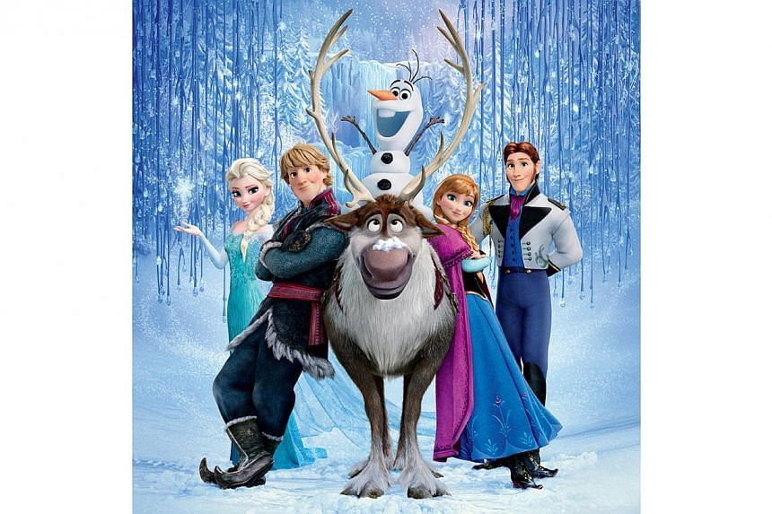 Disney S Frozen Continues To Break Records This Time For Its Ice