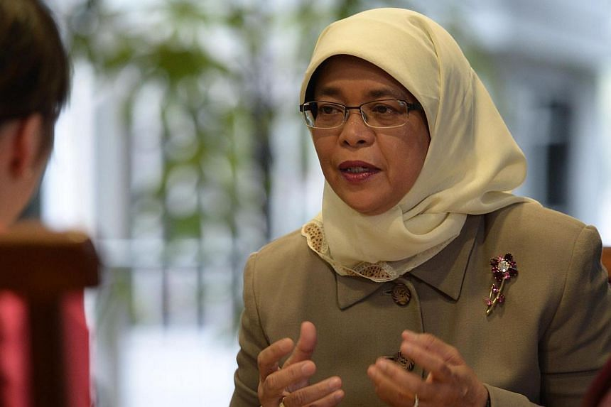 The Speaker of the Singapore Parliament, Madam Halimah Yacob, will make an official visit to Malaysia from Wednesday to Friday at the invitation of Malaysia's Speaker of the Parliament, Tan Sri Datuk Seri Panglima Pandikar Amin Hj Mulia. -- PHOTO: ST