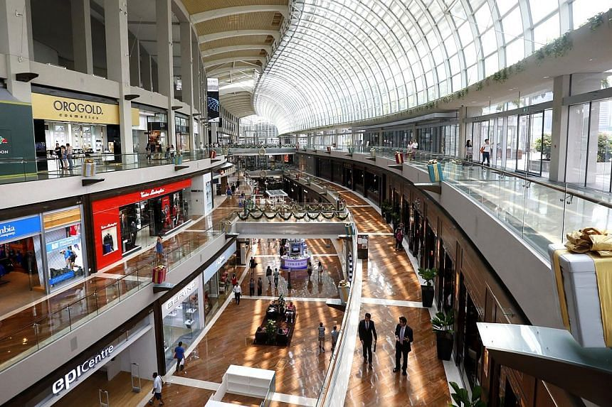 Singapore remains an attractive destination for international brands and new labels to set up shop, despite steep rents and tough operating conditions, property consultancy Colliers International said on Tuesday. -- PHOTO: ST FILE