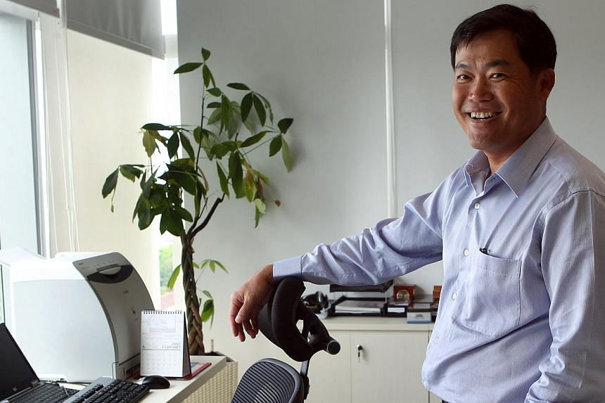 Seah Chin Siong will be appointed as chief executive of Singapore's Pools from Jan 1 next year. -- PHOTO: ST FILE