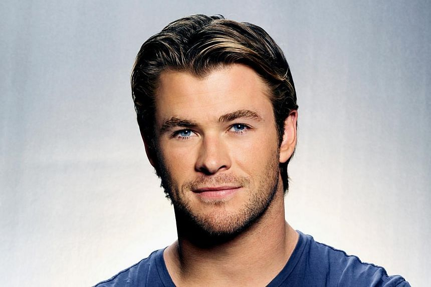 Chris Hemsworth as Thor. Hemsworth has been named People's Sexiest Man Alive. -- PHOTO: UIP