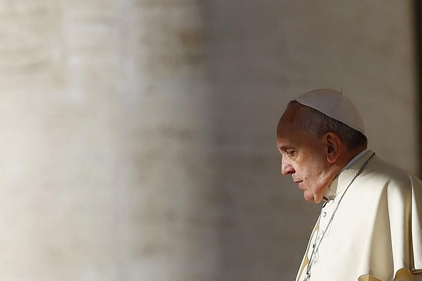 Pope Francis will be raffling off various gifts he has received in order to raise money for the poor.-- PHOTO: REUTERS