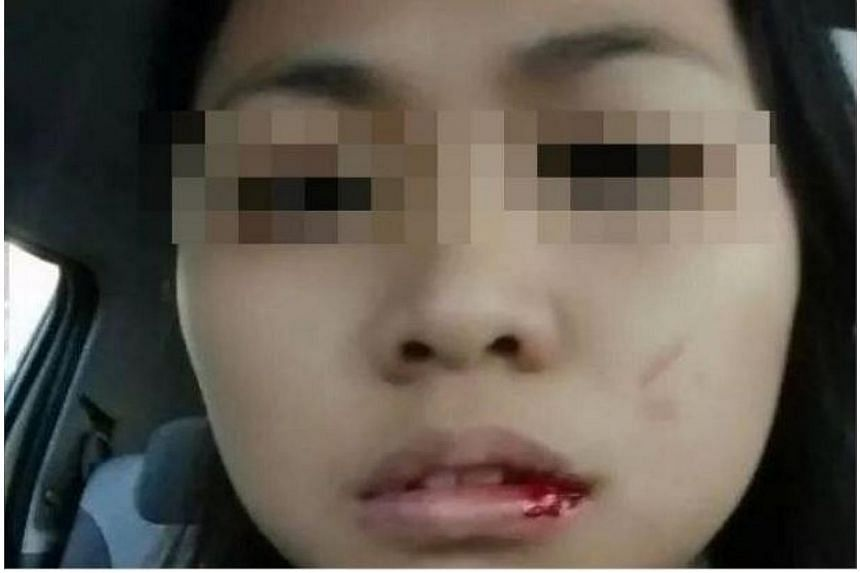 A 26-year-old woman has alleged that she was slapped by a taxi driver, in the second case of road bullying reported this week. -- PHOTO: THE STAR/ASIA NEWS NETWORK