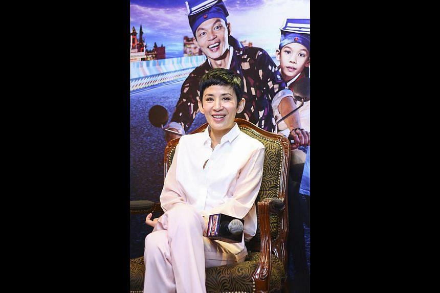 Sandra Ng initially had reservations about playing the mother of a grown-up son in A Fantastic Ghost Wedding. -- PHOTO: GOLDEN VILLAGE