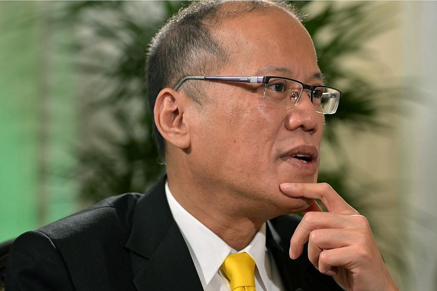 "Philippines President Benigno Aquino said that seeking United Nations arbitration to settle Manila's territorial row with Beijing would not be necessary if a ""code of conduct"" governing the contentious South China Sea could be concluded. -- ST PHOTO:"