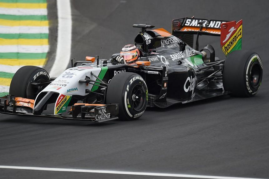 """Formula One is set to test a new on-car display system championed by Lewis Hamilton's father Anthony aimed at helping fans to follow a race without having to take their eyes off the action. The device, called """"Info Wing"""", will be mounted on a Force I"""