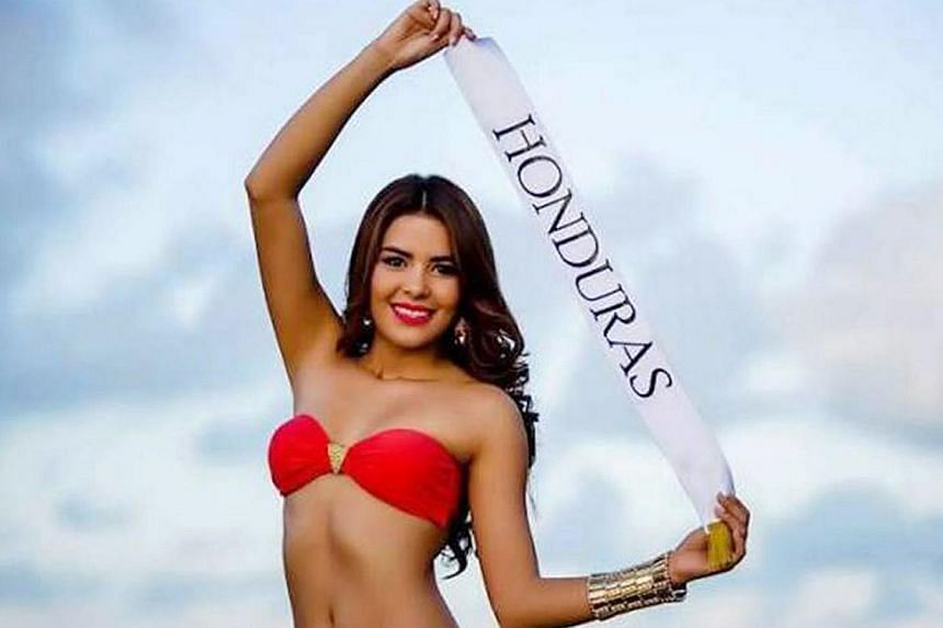 Ms Maria Jose Alvarado, 19, and her sister Sofia Trinidad disappeared on Thursday outside Honduras' northern city of Santa Barbara after a birthday party at a local resort, only days before she was to compete in the Miss World contest. -- PHOTO: AFP