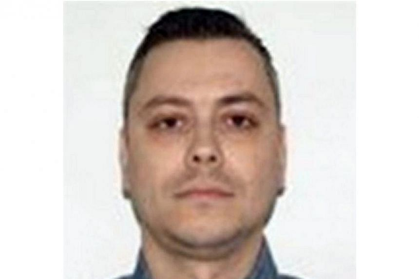 An undated image provided by the FBI shows Nicolae Popescu. US officials on Nov 18, 2014 added suspected online fraudster Popescu to its most-wanted list of cyber criminals and put a price on his head. A reward of as much as a million dollars is bein