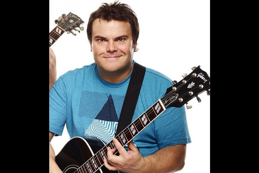 Jack Black (above) on his forthcoming concert here with Tenacious D partner, Kyle Gass. -- PHOTO: FOREFRONT ASIA