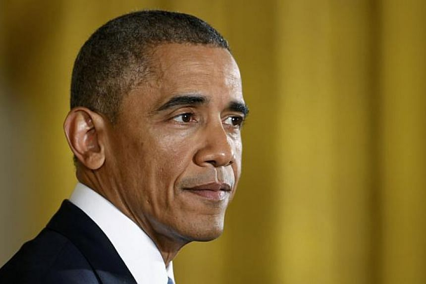 President Barack Obama (above) will outline a plan on Thursday to relax US immigration policy and grant relief from deportation to as many as five million undocumented immigrants in a go-it-alone move that will deepen a partisan divide with Republica