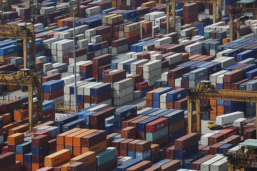 Singapore's domestic wholesale trade slipped 5.7 per cent in the third quarter of this year compared to the same period a year ago. -- PHOTO: ST FILE