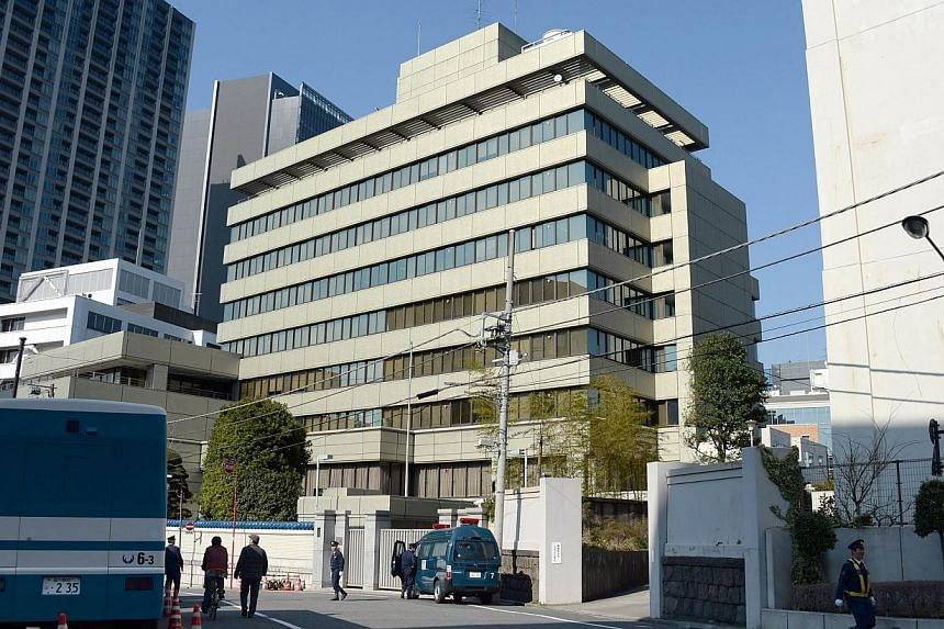 The building of North Korea's de facto embassy, occupied by Chongryon, Japan's North Korean residents community in Tokyo on March 24, 2014.A Japanese real estate company on Friday took over ownership of a Tokyo property that has served as North