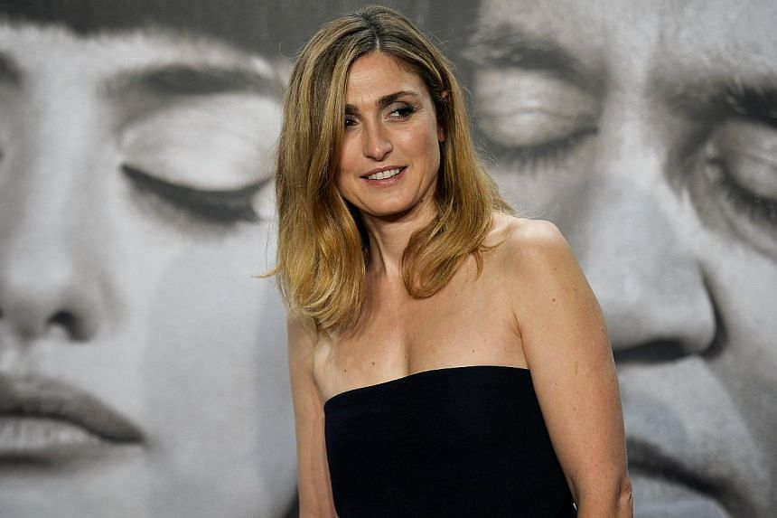 French actress Julie Gayet during the 5th Lumiere Film Festival opening ceremony in the French city of Lyon on Oct 13, 2014. Her relationship with French President Francois Hollande has been the subject of endless rumours in Parisian society. -