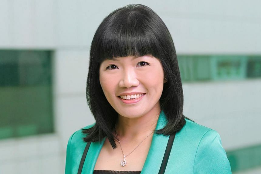 Starhub's Jeannie Ong was one of three runners-up in a global ranking of best investor relations officers for small and mid-cap companies. -- PHOTO: STARHUB
