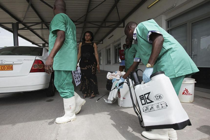 The World Health Organisation (WHO) declared on Friday that an outbreak of Ebola in the Democratic Republic of Congo was over after no people showed symptoms for two incubation periods since the last case. -- PHOTO: REUTERS