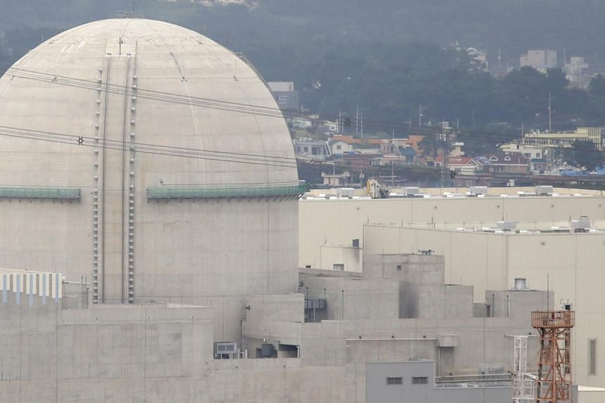 South Korea said on Friday it will start to construct two new nuclear power plants in 2017 at the earliest and another two by 2022, making a total of 11 new nuclear plants planned by 2024. -- PHOTO: REUTERS