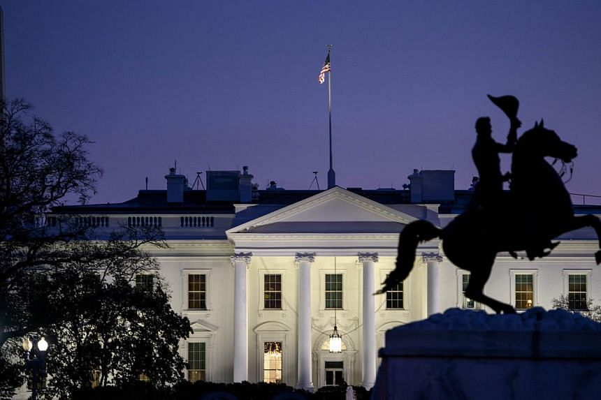 A 23-year-old woman armed with a handgun was arrested outside the White House late Thursday, US Secret Service officials said. -- PHOTO: AFP