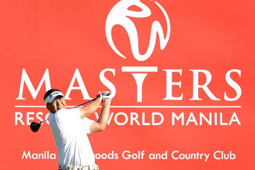 Singapore golfer Mardan Mamat put himself on pole position for a fourth Asian Tour win with a four-shot lead Saturday going into the final round of Asian Tour's Philippines' Resorts World Manila Masters tournament. -- PHOTO: ASIAN TOURS