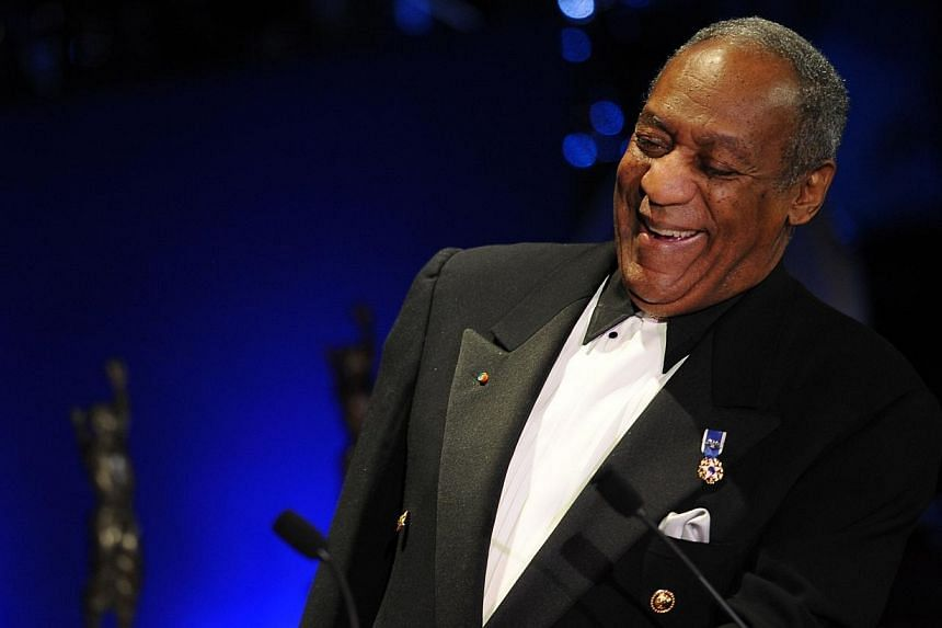 In this March 16, 2009 file photo, comedian Bill Cosby speaks at the Jackie Robinson Foundation annual Awards Dinner at the Waldorf Astoria Hotel in New York. A planned Bill Cosby special on Netflix has been postponed, the video streaming service sai