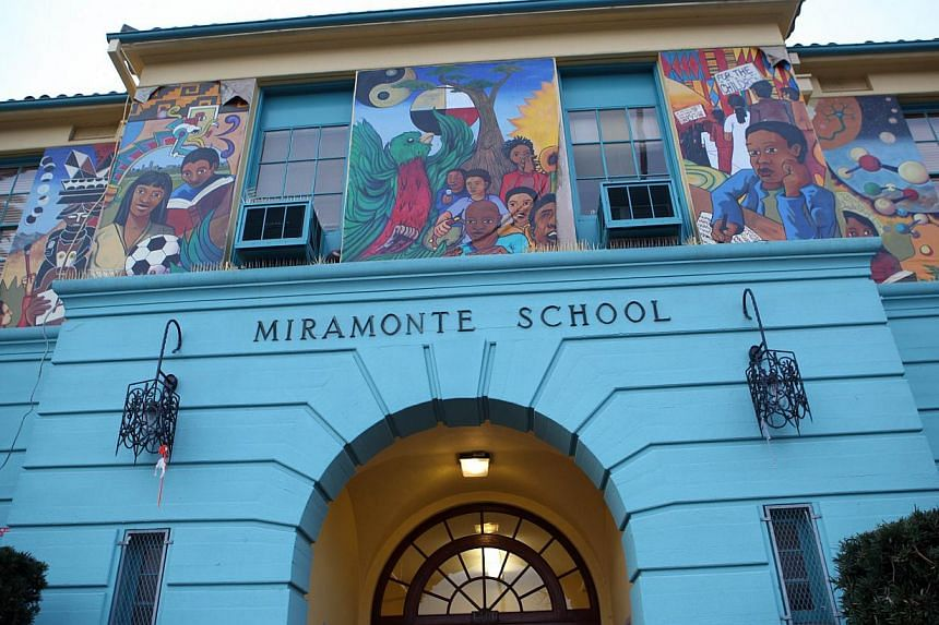 The revelations of the abuse by the third-grade teacher at Miramonte Elementary School in a working-class area of Los Angeles touched off protests by infuriated parents shortly after his arrest in January 2012. -- PHOTO: AFP