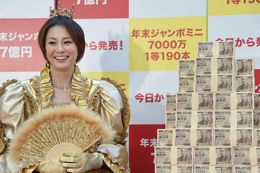 Money saved in secret by Japanese wives is about 3.4 times their husbands' clandestine stash, Jiji Press reported Saturday, citing a survey by Meiji Yasuda Life Insurance Co. -- PHOTO: AFP