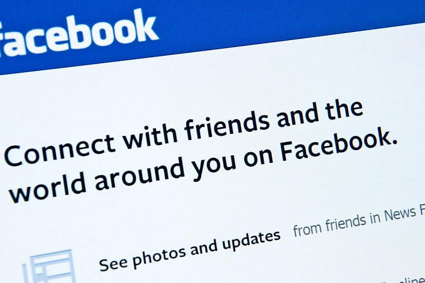 The huge social network has become a key source of news for many users, as part of a dramatic shift in how people get information in the digital age. -- PHOTO: AFP