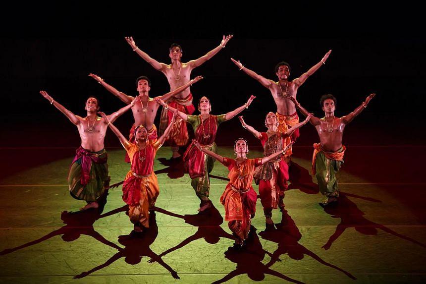 Disha by renowned bharatanayam choreographer Leela Samson.-- PHOTO:ESPLANADE