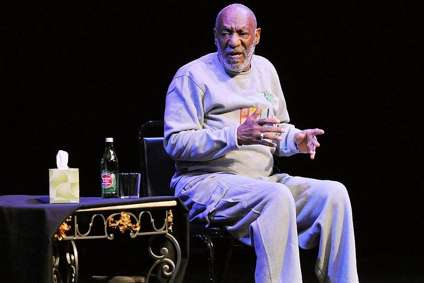 Actor Bill Cosby performs at At King Center For The Performing Arts in Melbourne, Florida on Nov 21, 2014. -- PHOTO: AFP